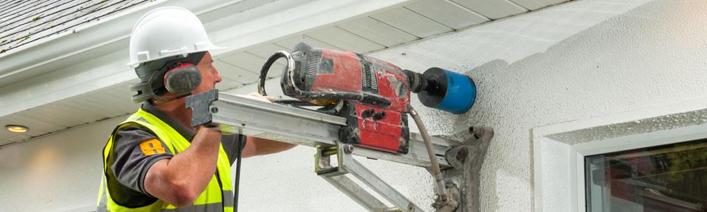 Concrete Coring - Core Drilling